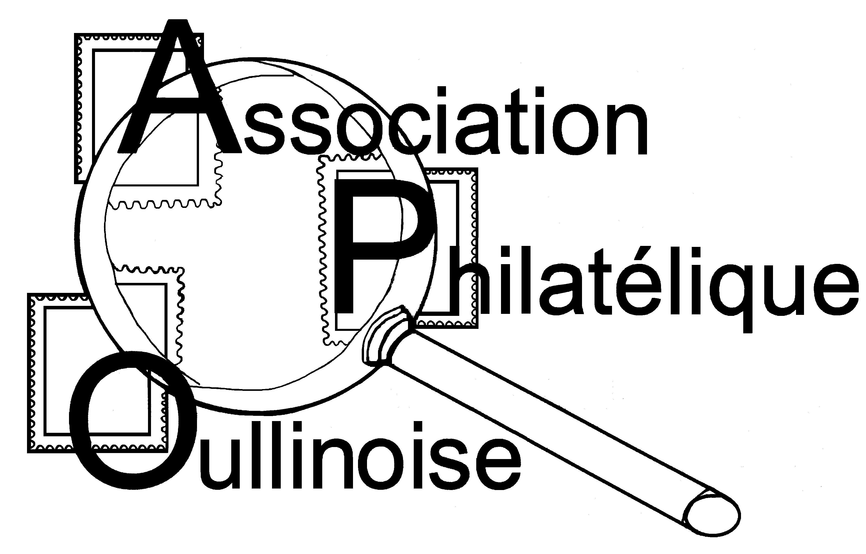 ASSOCIATION PHILATELIQUE OULLINOISE Logo